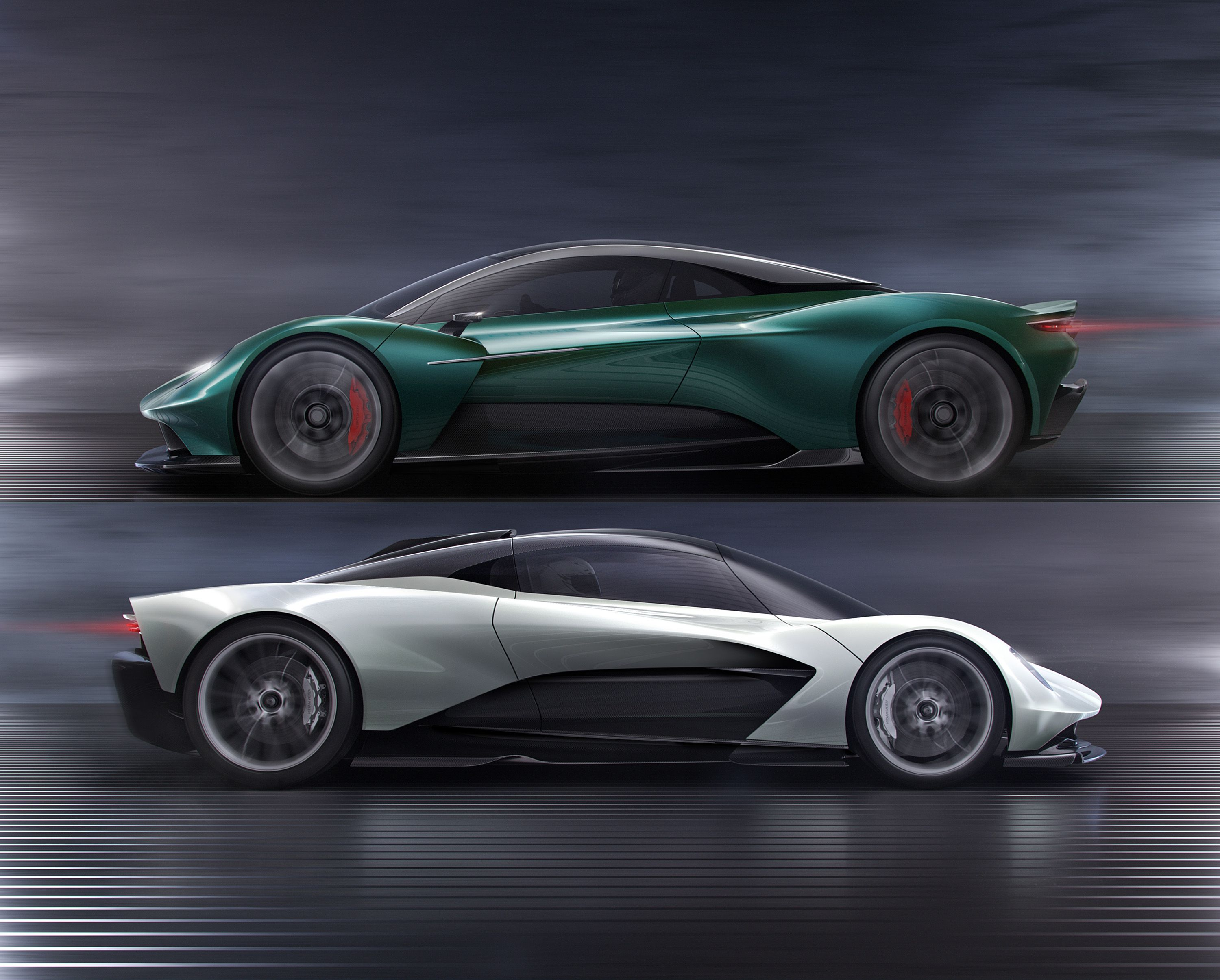 The Difference Between Aston Martin S Two New Mid Engine Cars