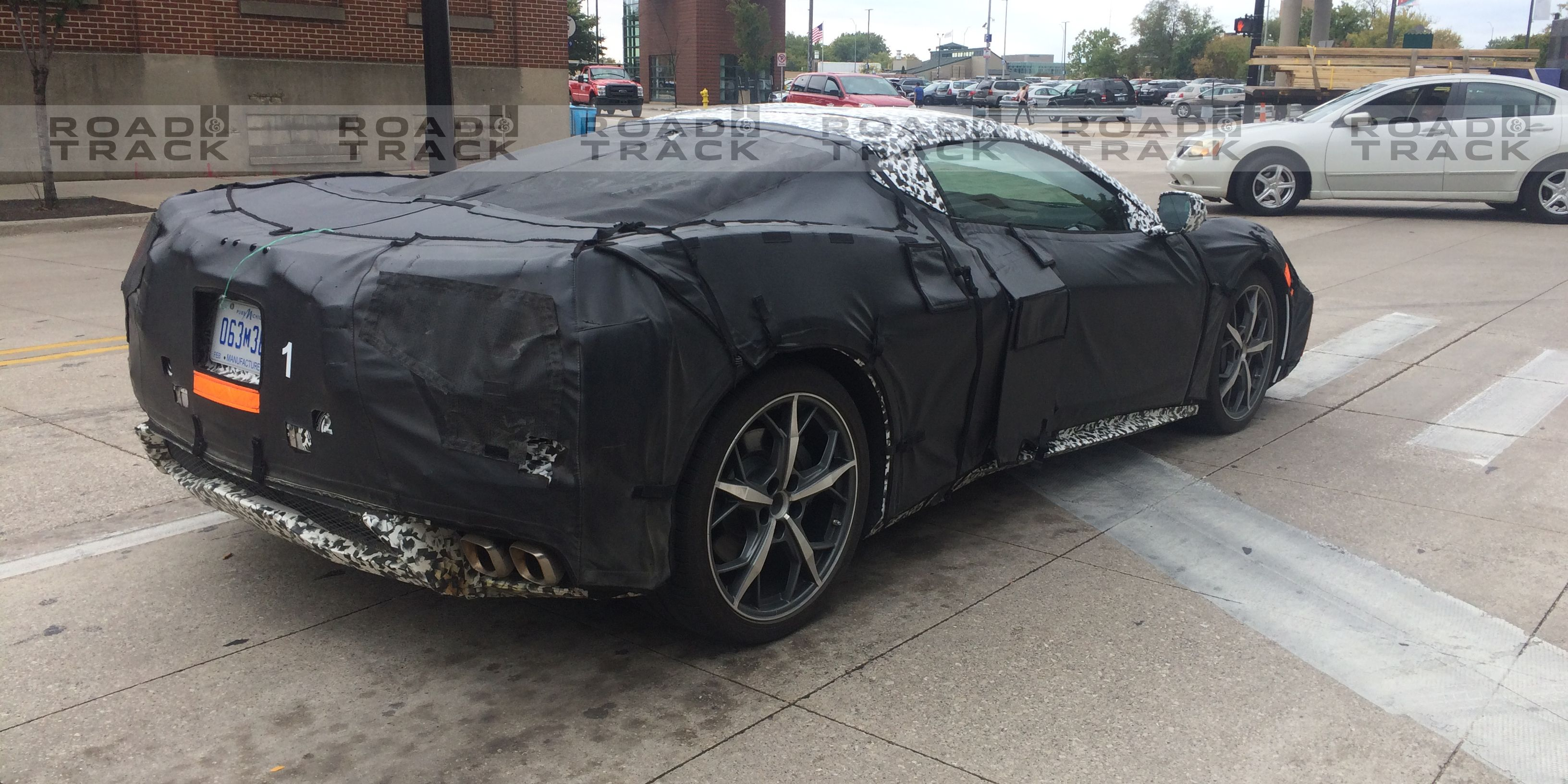 Mid Engine C8 Corvette Spy s New 2018 C8 Corvette s