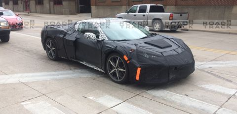 mid engine corvette porsche