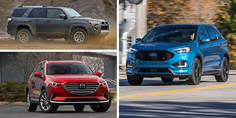 Mid Size Crossovers And Suvs Ranked