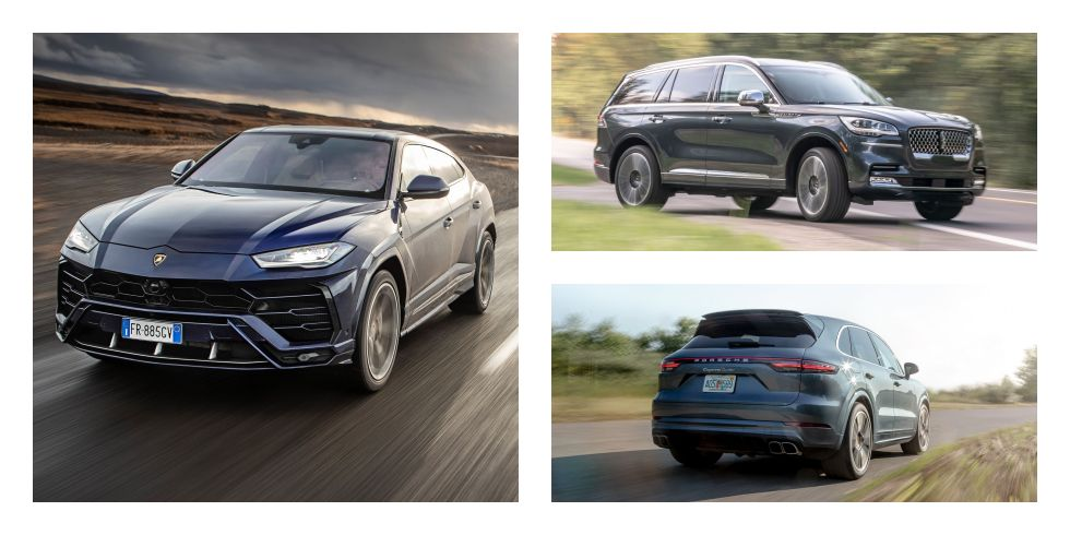 Every 2021 Mid-Size Luxury Crossover and SUV Ranked from Worst to Best