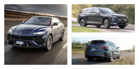 Mid-Size Luxury Crossover SUVs Ranked