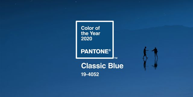 Classic Blue is Pantone's Colour of the Year 2020