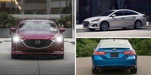 mid-size sedan rankings