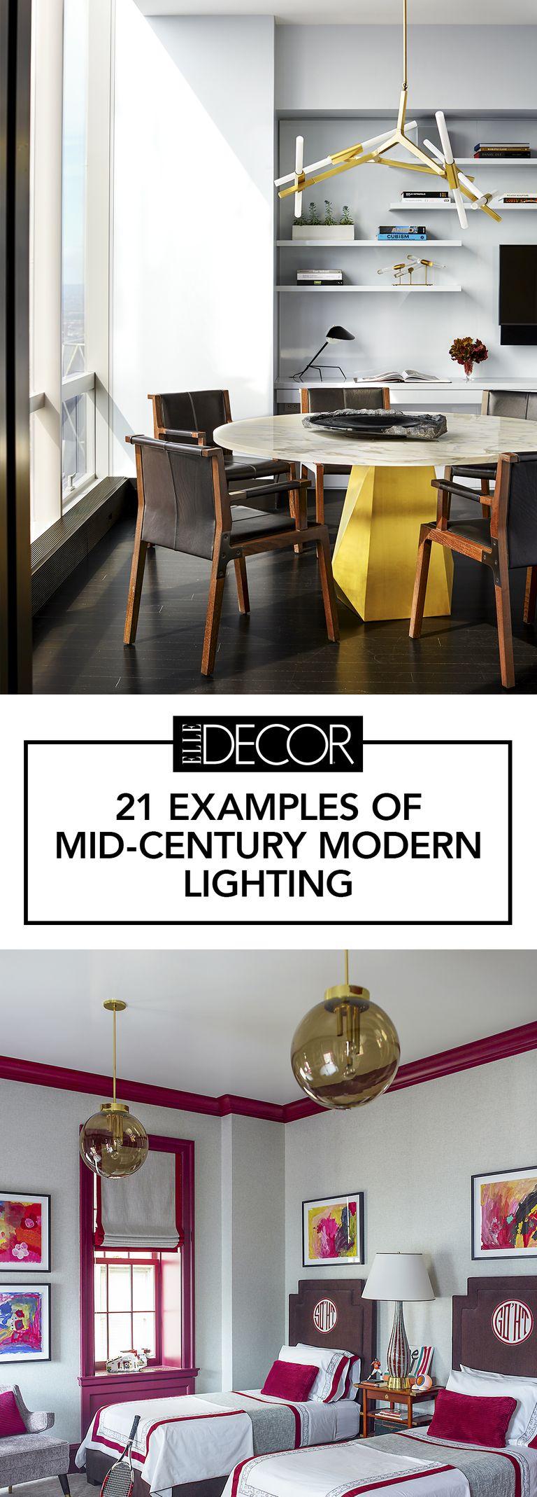 26 Mid Century Modern Lighting Ideas - Mid Century Style