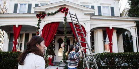 christmas decoration hanging hacks