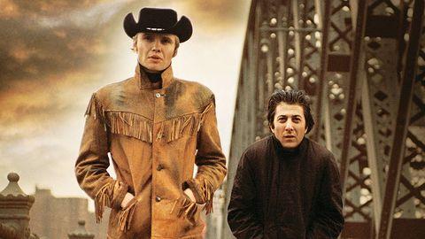 John Voight y Dustin Hoffman