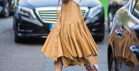 Street fashion, Fashion, Hairstyle, Footwear, Leg, Long hair, Joint, Outerwear, Human, Blond,
