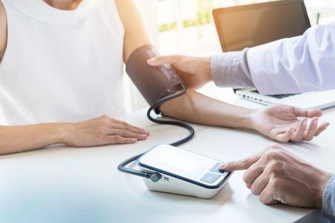 定期的な血圧測定