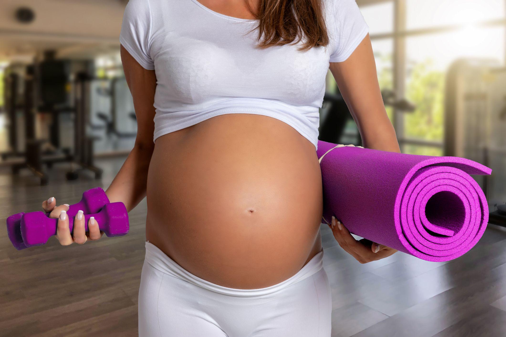 Tipos de abdominales durante el embarazo