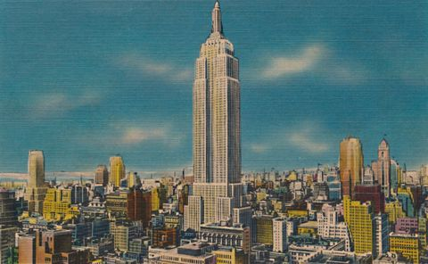 Midtown Skyline Showing Empire State Building