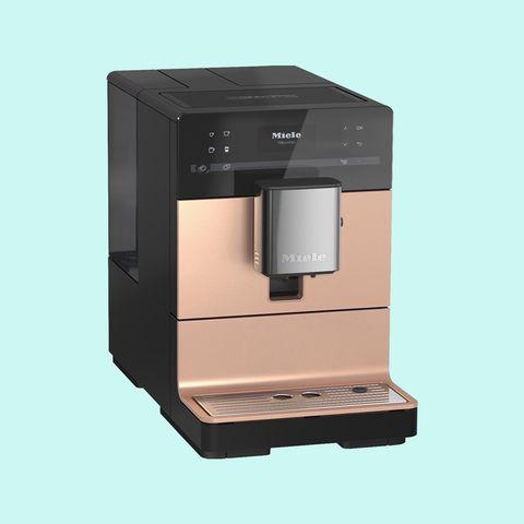 Coffeemaker, Small appliance, Espresso machine, Drip coffee maker, Kitchen appliance, Product, Coffee grinder, Home appliance,