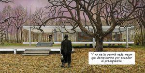Novela gráfica Mies van der Rohe