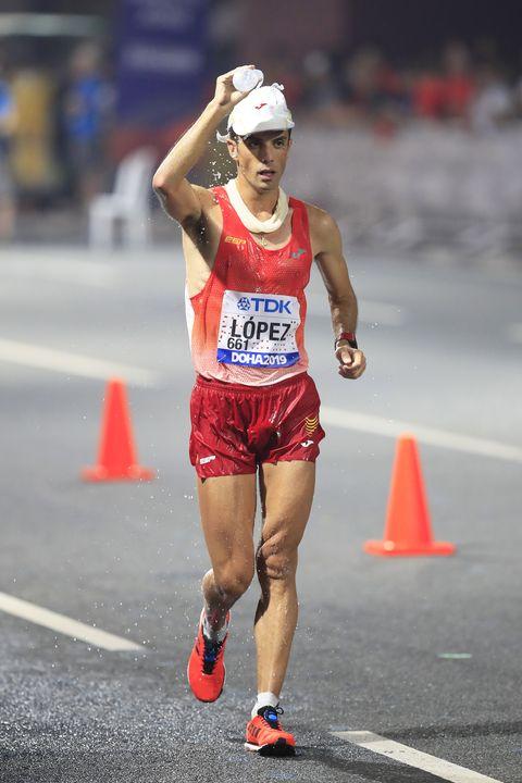 Miguel ÁngelLópez, 20km marcha, Doha 2019