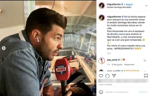 el novio de paula echevarría tiene nuevo trabajo ficha por radio marca
