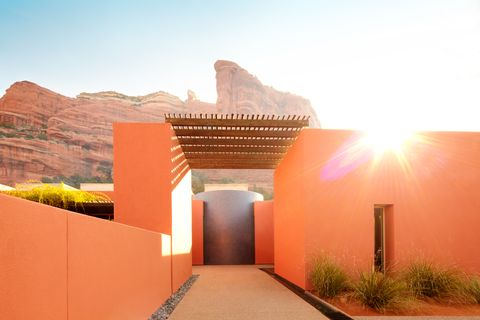 Architecture, Wall, Sky, Historic site, Landscape, Building, Arch, Rock, Facade, House,