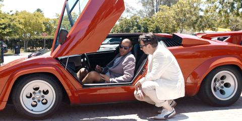 Land vehicle, Vehicle, Car, Motor vehicle, Classic car, Concept car, Lamborghini countach, Custom car, Vintage car, Coupé,