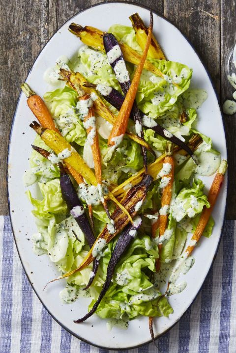 green goddess carrot salad