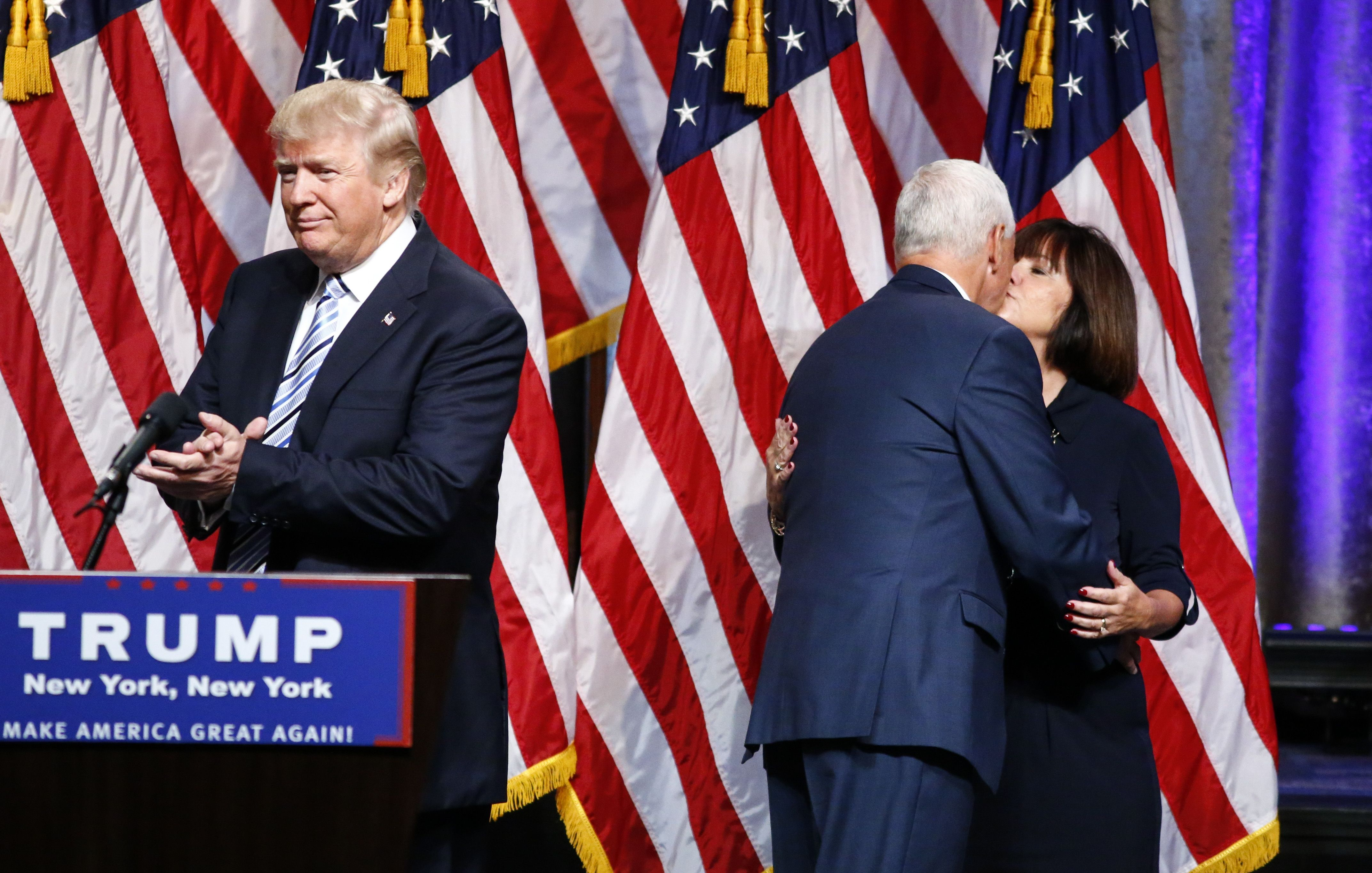 Mike Pence turned to Karen when deciding whether or not to join the Trump ticket.