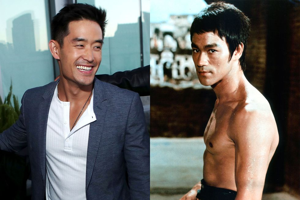 Mike Moh as Bruce Lee