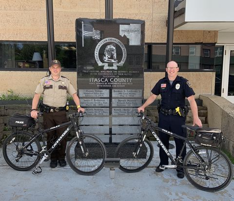 These Police Officers Are Riding 72 Miles in Uniform for Domestic Violence Awareness