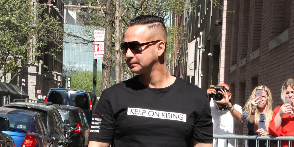 Mike 'The Situation' Sorrentino Is Officially Out of Prison