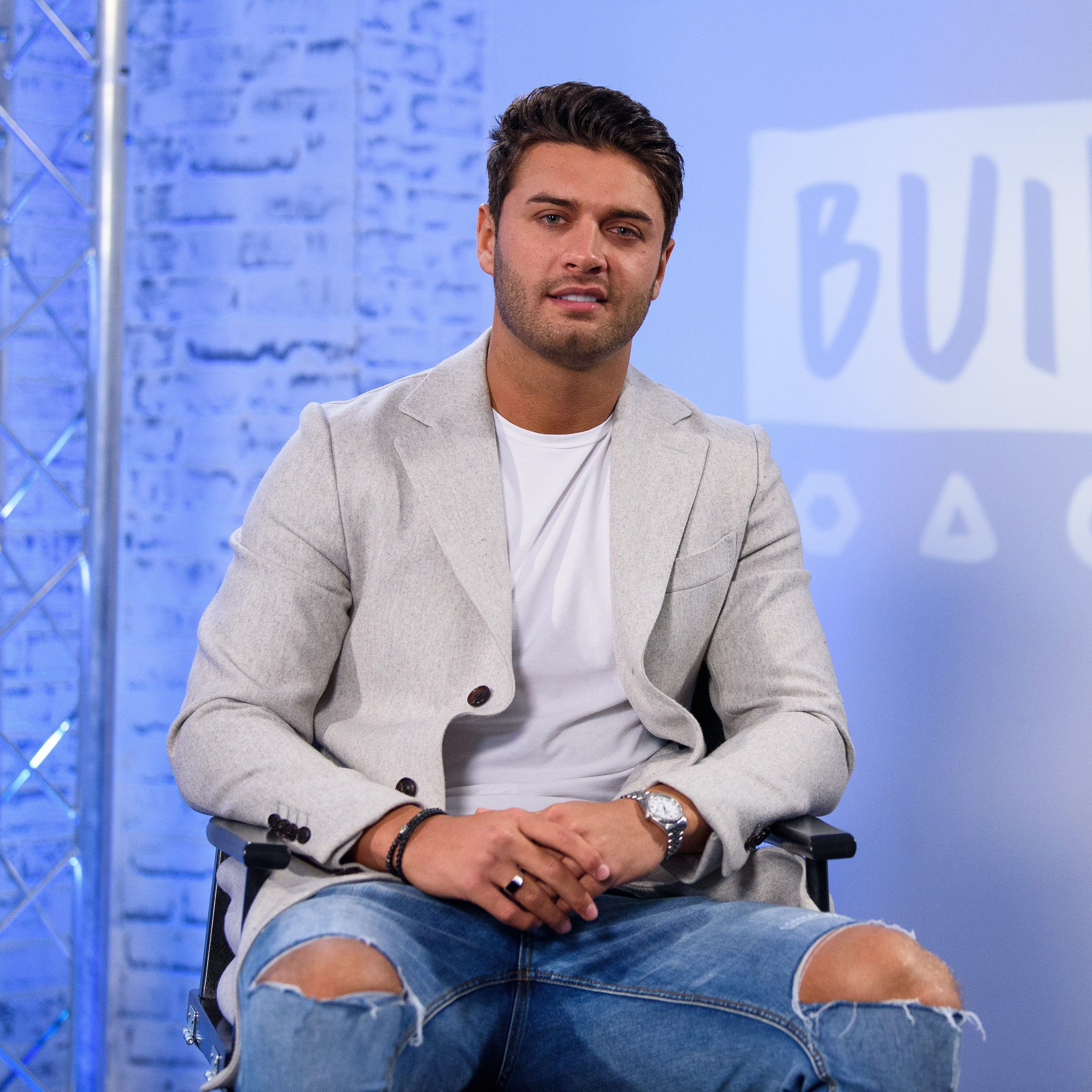 Mike Thalassitis pictured in February 2018