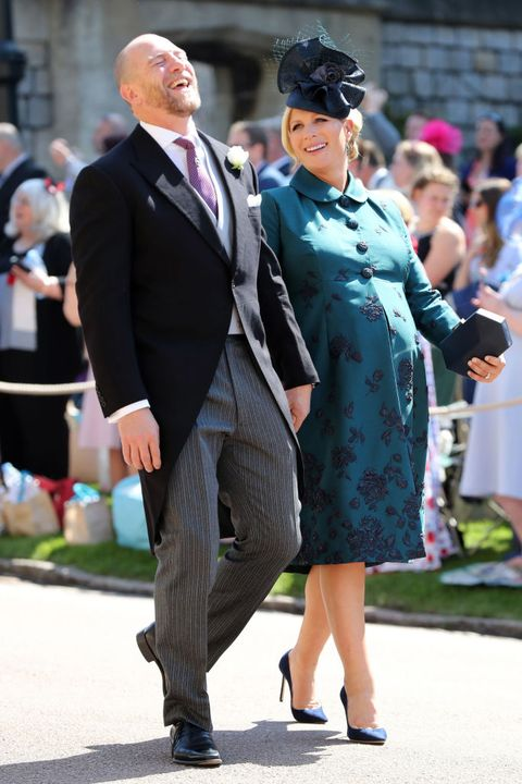 Zara Phillips And Mike Tindall Just Shared The Sweetest