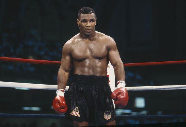 mike tyson, durante su primera época como boxeador