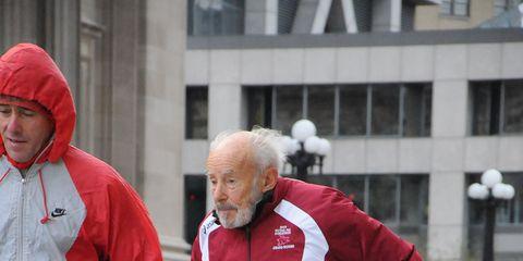 Mike Fremont, 92, Single Age Half Marathon WR