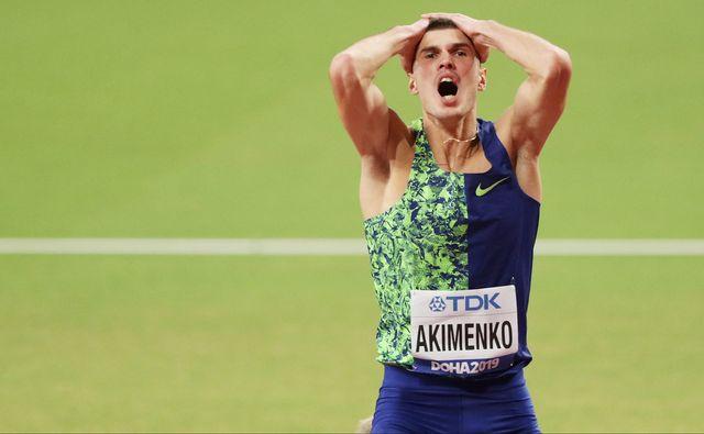 mikhail akimenko, atleta ruso que podrá competir con la bandera neutral durante el año 2021