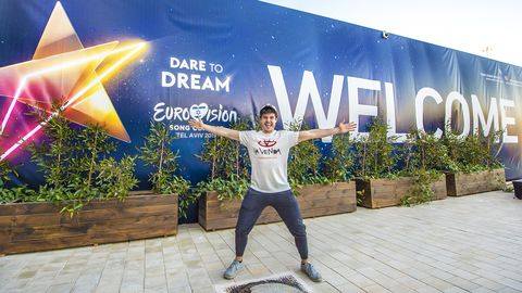 Miki ensayo Eurovisión 2019