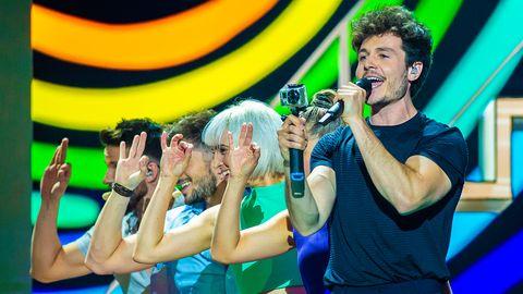 miki eurovision ensayos