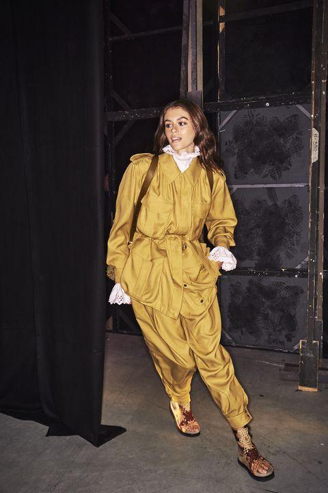 Yellow, Fashion, Outerwear, Performance,