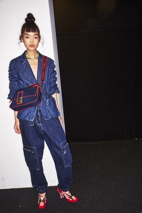 Jeans, Denim, Clothing, Street fashion, Fashion, Textile, Fashion design, Outerwear, Jacket, Footwear,