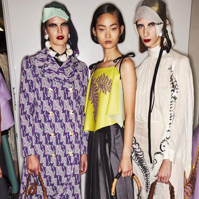 Fashion, Clothing, Fashion model, Fashion show, Fashion design, Runway, Shoulder, Eyewear, Dress, Footwear,