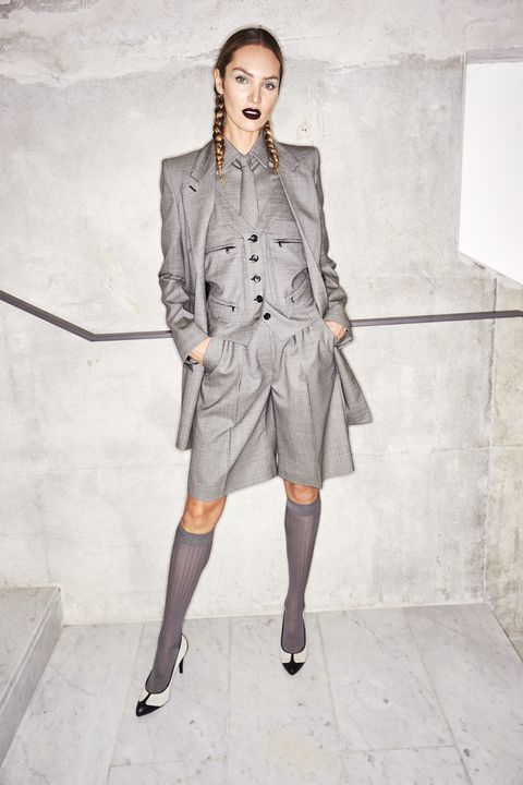 Clothing, Fashion model, Fashion, Coat, Outerwear, Street fashion, Trench coat, Shoulder, Overcoat, Fashion design,
