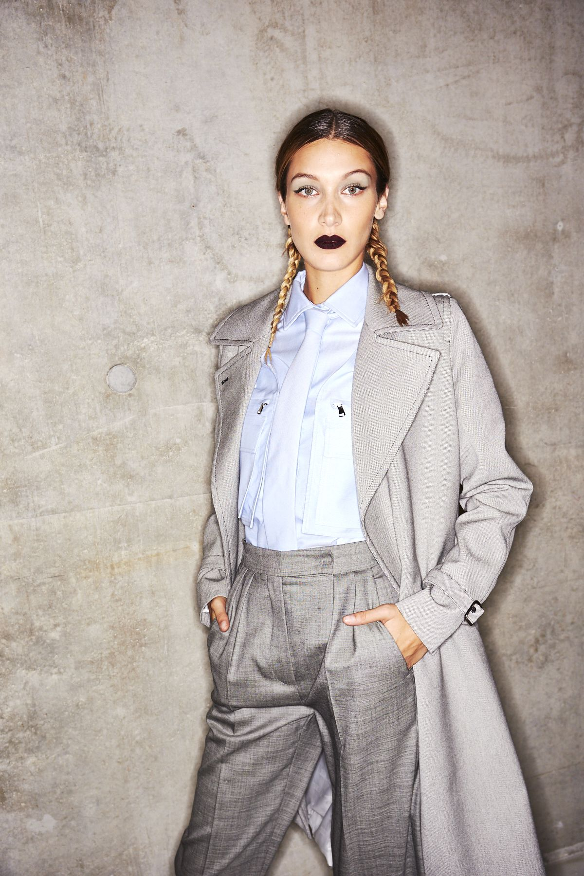 Exclusive Backstage Photos from Max Mara Spring/Summer 2020