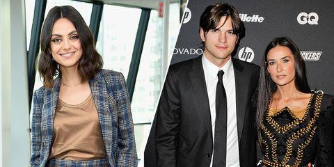 Ashton Kutcher And Mila Kunis Wedding.Mila Kunis Defends Ashton Kutcher S Marriage To Demi Moore Mila