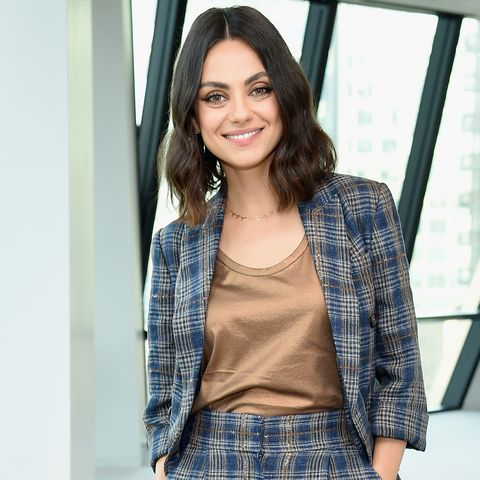 """mila kunis  cosmo editor in chief michele promaulayko host screening of """"the spy who dumped me"""""""