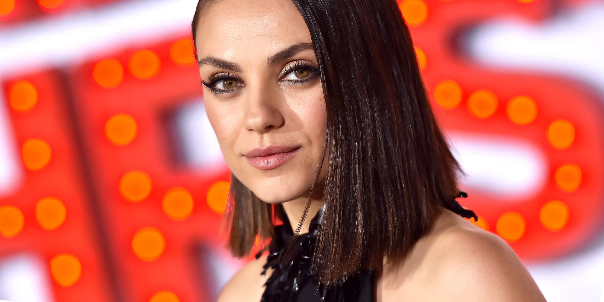 Mila Kunis Cut Her Hair Into An Angled Lob For Spring 2018