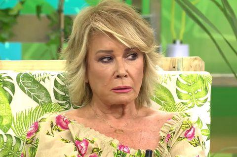 Mila Ximénez se enfada con Miriam Saavedra por su imitación de Manolo Santana