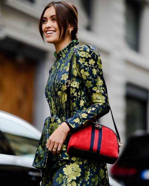 Street fashion, Clothing, Fashion, Beauty, Textile, Design, Dress, Pattern, Outerwear, Street,