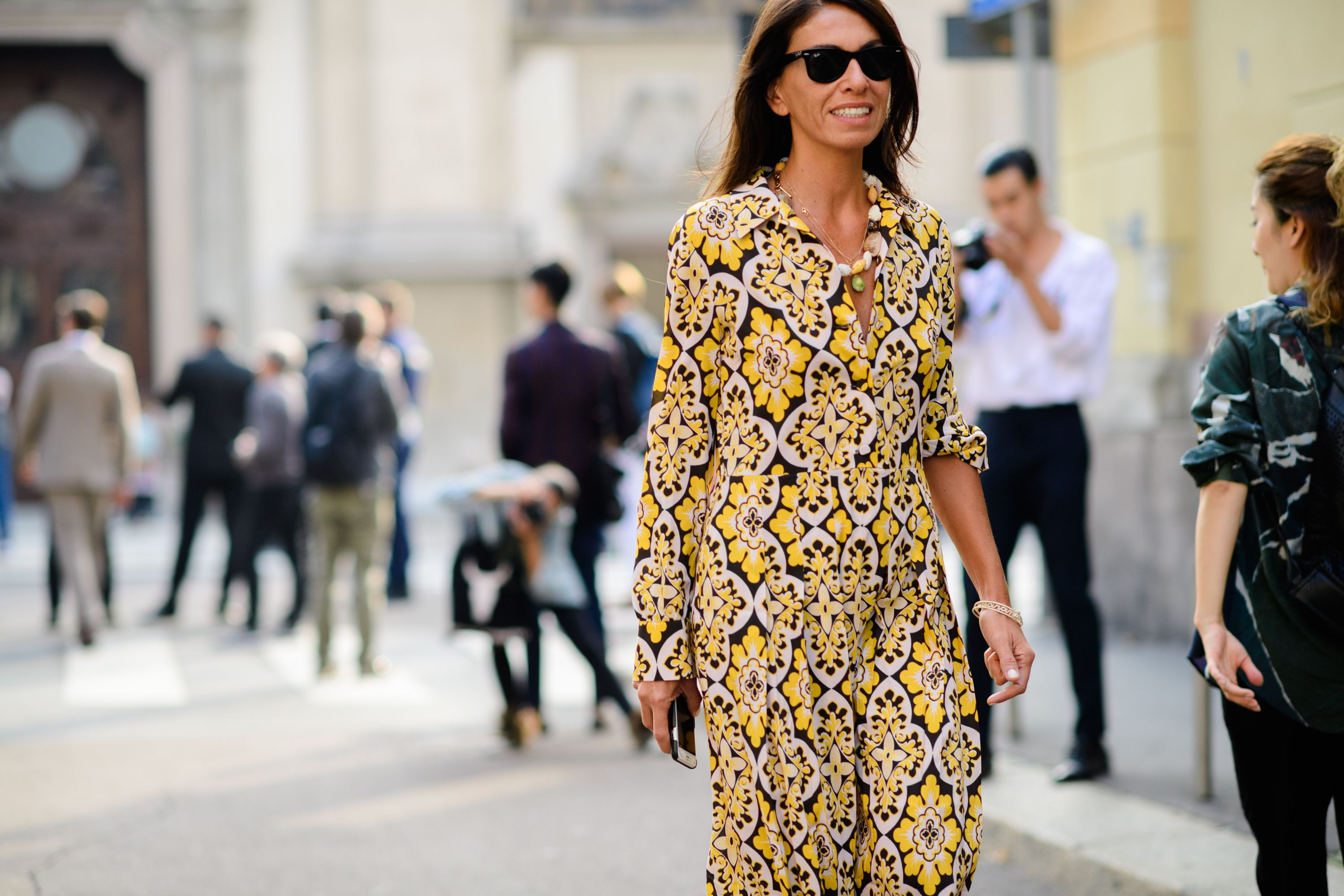 847702c2d033 Milan Fashion Week Spring 2018 Street Style - Style Photos from Milan  Fashion Week