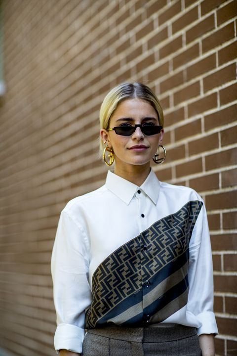 Eyewear, White, Street fashion, Clothing, Dress shirt, Fashion, Sunglasses, Shirt, Collar, Cool,