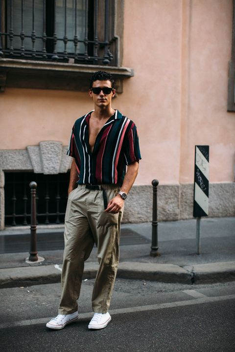 street style hombre semana de la moda de milan