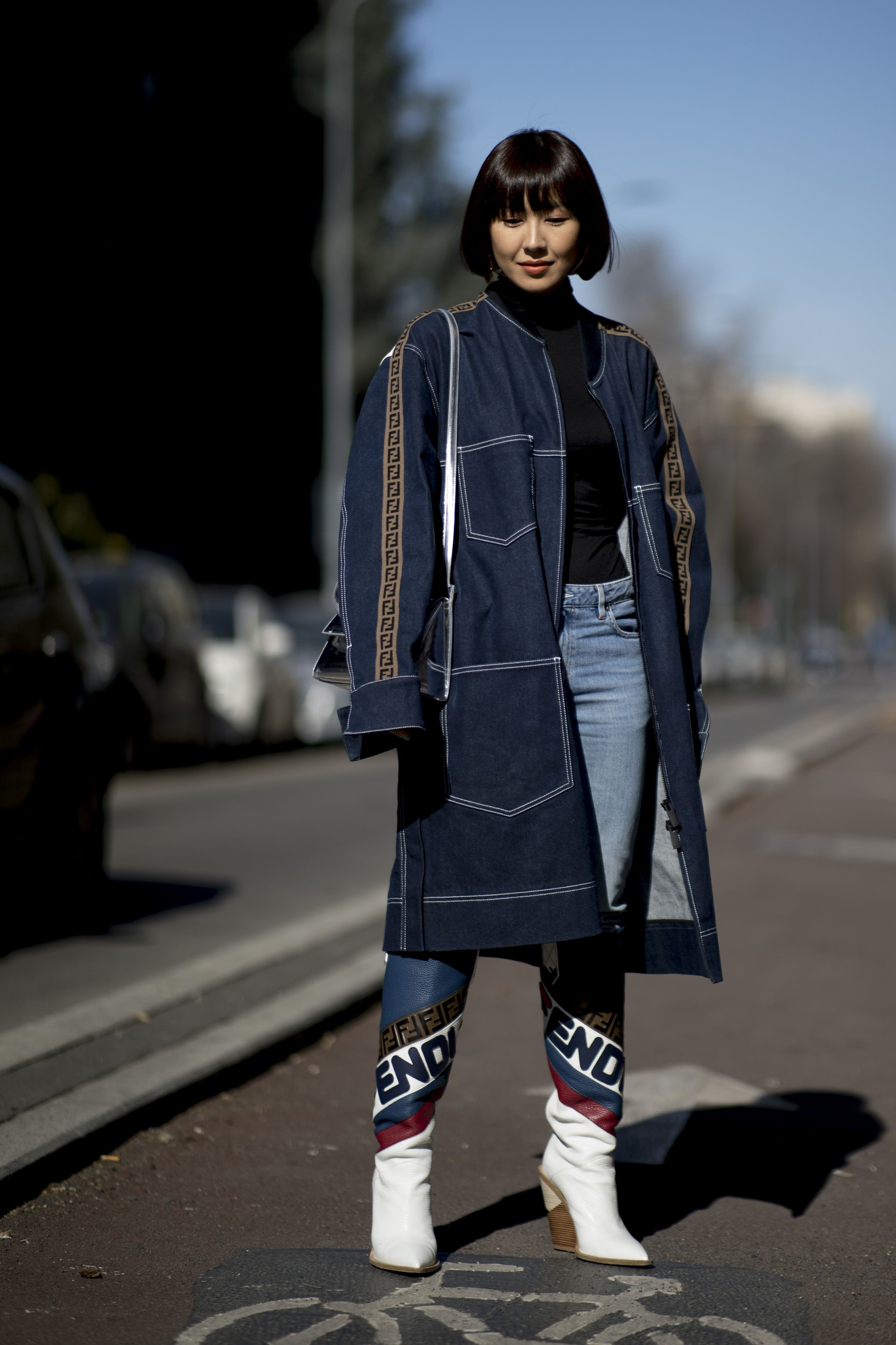 milan fashion week street style aw19