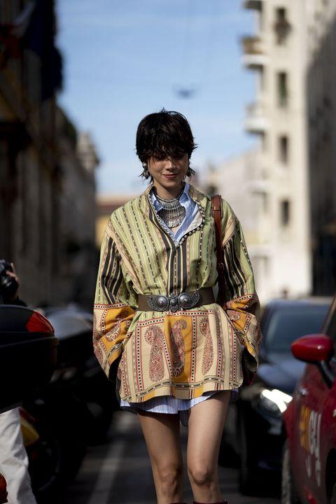 Street fashion, People, Fashion, Yellow, Snapshot, Street, Human, Leg, Infrastructure, Dress,