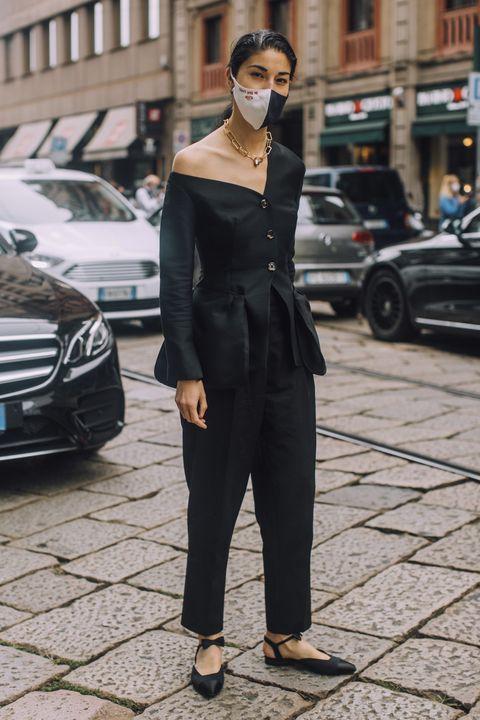 paris fashion week street style 2021 spring summer