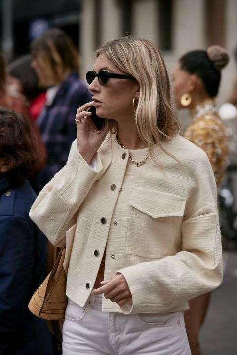 Eyewear, White, Street fashion, Clothing, Sunglasses, Fashion, Blond, Outerwear, Beauty, Hairstyle,